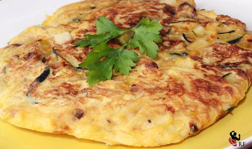 Tortilla de berenjena